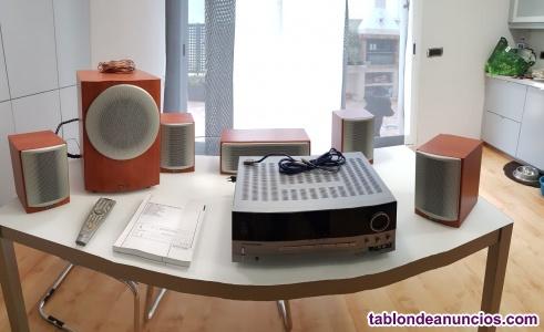 Vendo equipo de sonido con amplificador harman con juego de