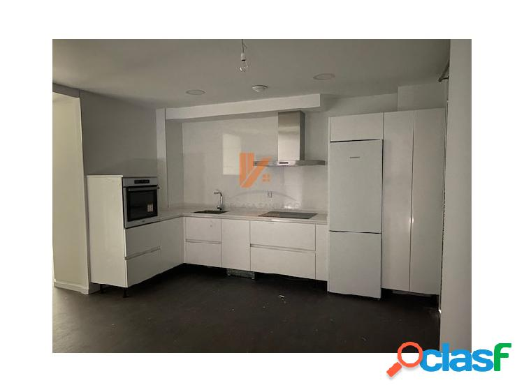 Apartamento a estrenar sin muebles