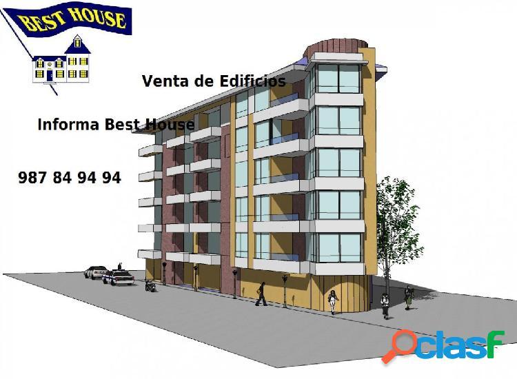 Edificio en venta en el centro de León.