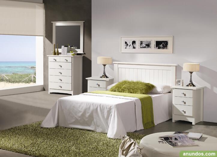 Dormitorio de matrimonio lacado nuevo de fabrica - Albal