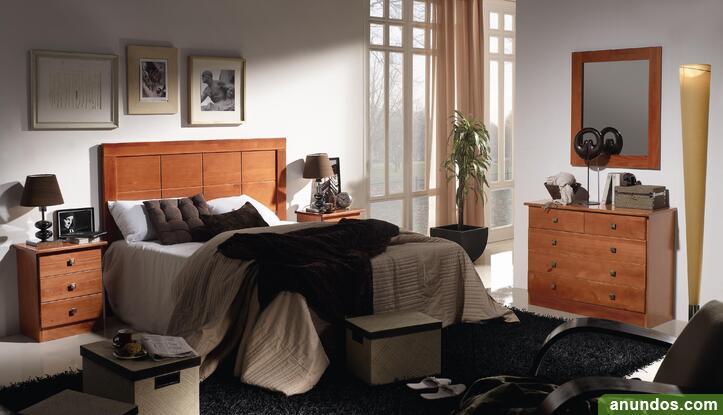 Dormitorio de matrimonio macizo nuevo de fabrica - Albal