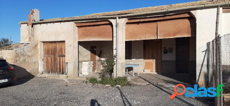 Se vende Casa de campo con terreno en la bayas