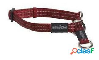 Kruuse Collar medio Buster Reflectante Rojo 20 x 400-550 mm