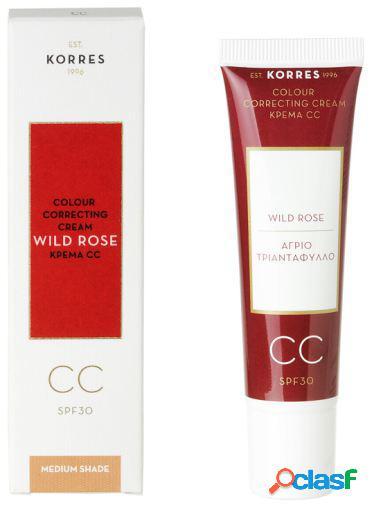 Korres Rosa Salvaje CC Cream Medium 30 ml