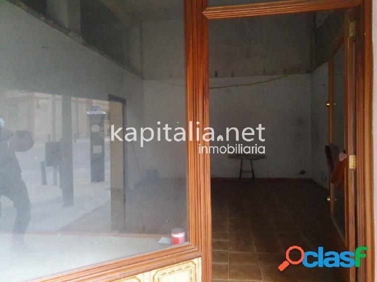 Local comercia en alquiler en zona Daniel Gil de Ontinyent