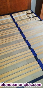 Somier de laminas de madera