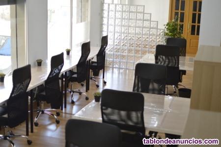 Negocio de alquiler de oficinas y salas