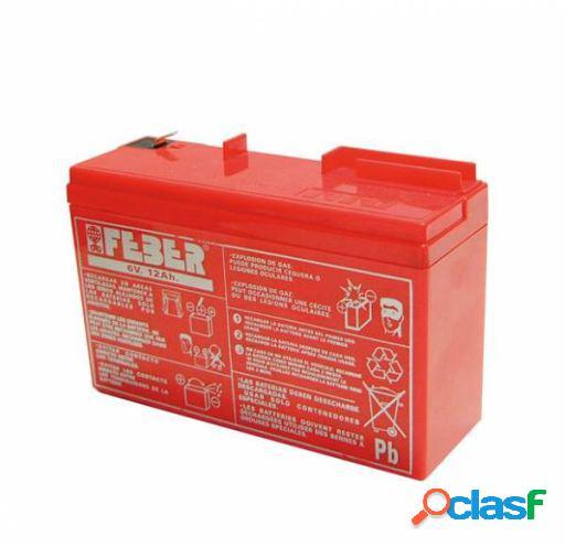Feber Bateria para coches de niños 6v 7,5 ah