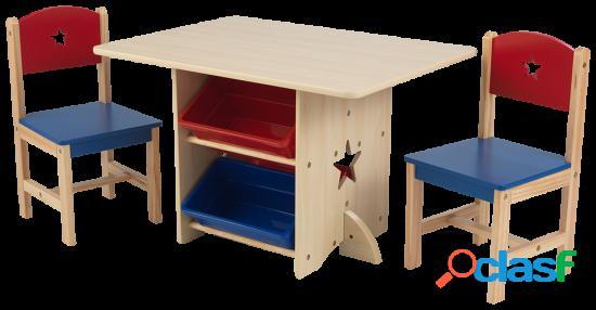 KidKraft Juego de mesa y silla Estrella