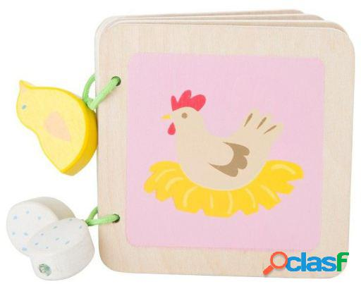 Legler Libro De Madera Para Bebé Granja 170 gr