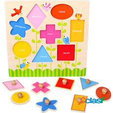 Legler Set de puzzle formas