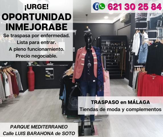 Traspaso Tienda de Modas en Málaga