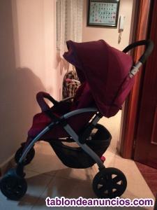 Vendo coche y silla bebé de coche