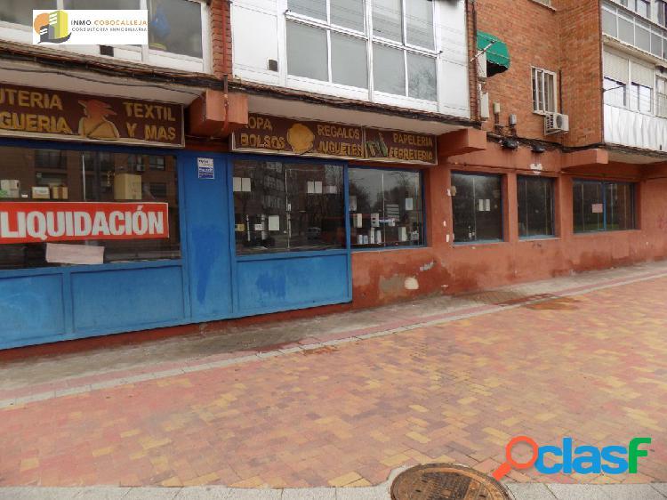 LOCAL COMERCIAL EN FUENLABRADA