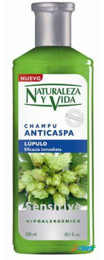 Naturaleza y Vida Champú Sensitive Anticaspa 300 ml 300 ml