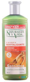 Naturaleza y Vida Champú Sensitive Revitalizante 300+100 ml