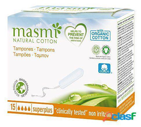 Masmi Tampones Digitales Súper Plus sin aplicador 15