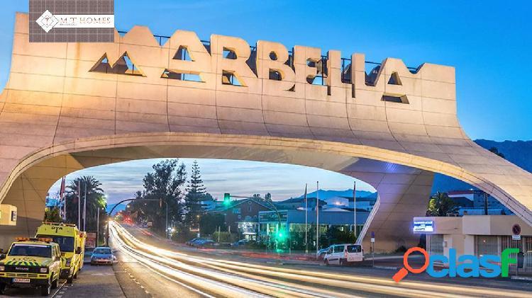 SOLAR URBANO DE 15.684 M2 JUNTO AL CENTRO DE MARBELLA