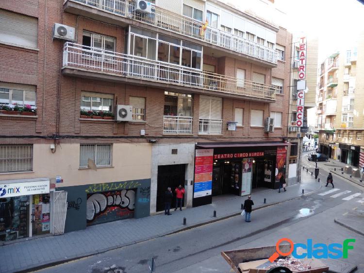 Tu negocio frente al Teatro Circo de Murcia