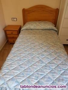 Vendo cama de 90cm nueva