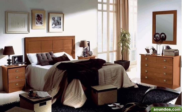 Dormitorio de matrimonio macizo nuevo de fabrica - Málaga