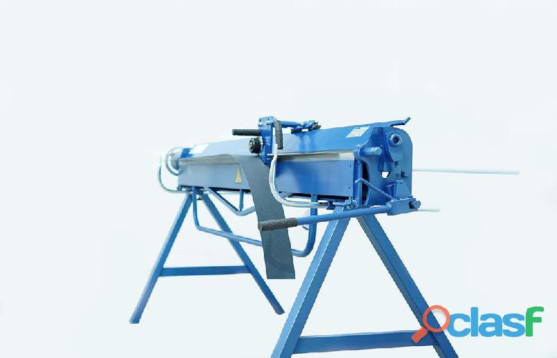 Plegadora manual para aluminio de 2140/0,8