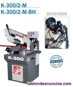 Sierra de cinta para metales mg serie k300