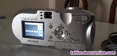 Camara fotos digital sony