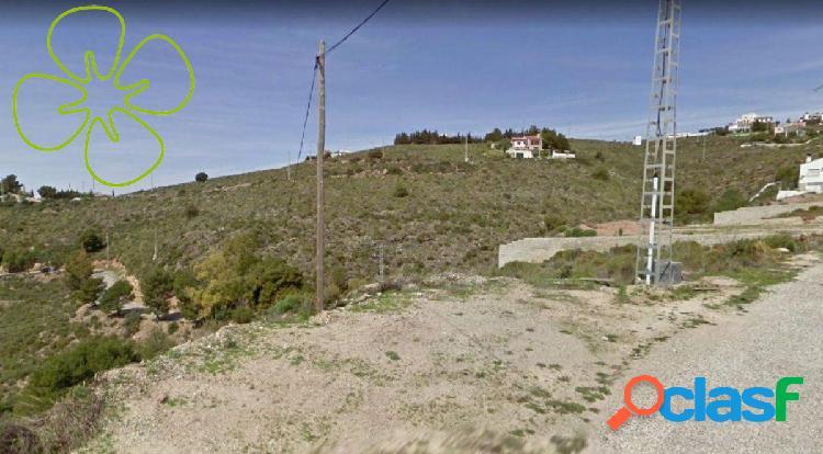 En venta parcela de terreno en urbanización Montysol.