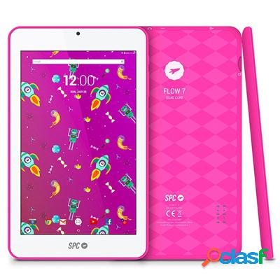 "Spc Tablet 7"" Ips 9742108P Flow Qc 8Gb Rosa, original de la"