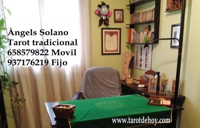 Tarot tradicional cara a cara con Angels Solano