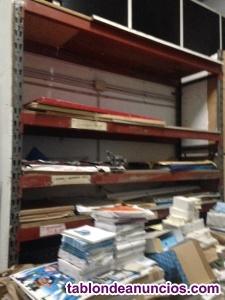 Vendo estanterías de palets