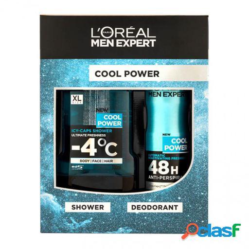 L'Oreal Paris Set cool power shower gel 300 ml +