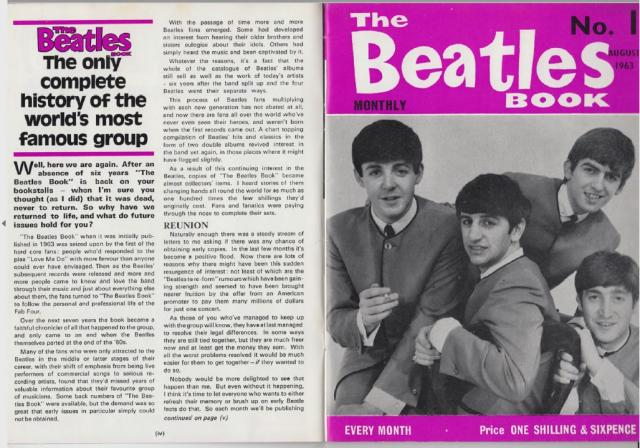 The Beatles Monthly Book. Colección completa en PDF (321