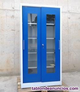 Armario puertas correderas con ventana