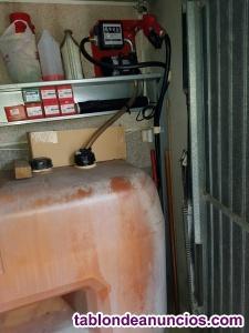 Venta de deposito de gasóleo y motor con contador 350 euros