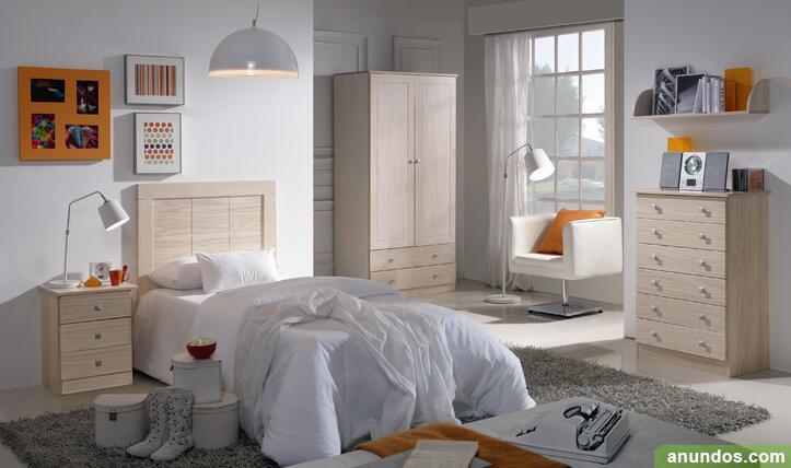 Dormitorio de juvenil macizo nuevo de fabrica - Madrid
