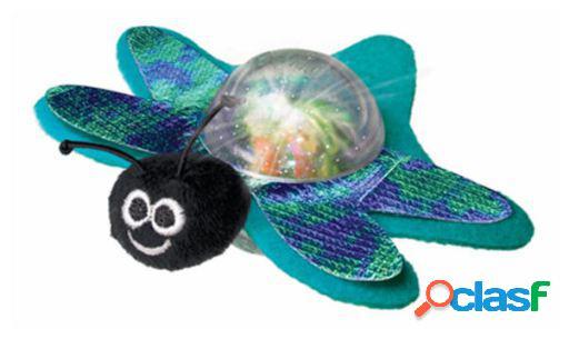 KONG Juguete de Inteligencia Cat Bat-A-Bout Flicker Firefly