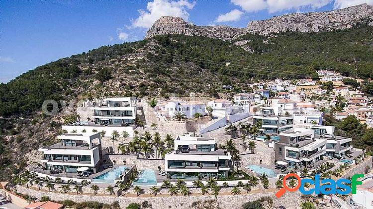 NEW BUILDING! 6 luxury villas in Calpe with sea views for