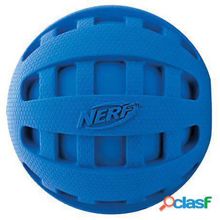 Nerf Dog Squeak Checker Pelota para perros 6.35 cm