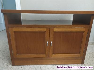 Vendo tv sony49 con 4k y mueble de madera maciza (o