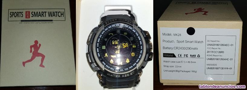 Sports smart watch modelo: mk28