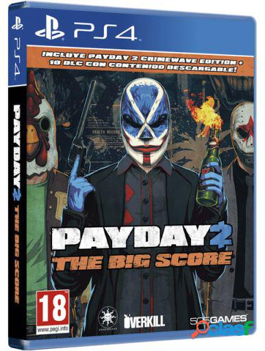 505 Games Payday 2 The Big Score Ps4