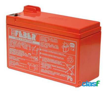 Feber Batería para coches 12v 7,2 ah
