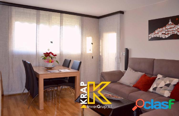 KRAP INVERGRUP comercializa impecable piso listo para entrar