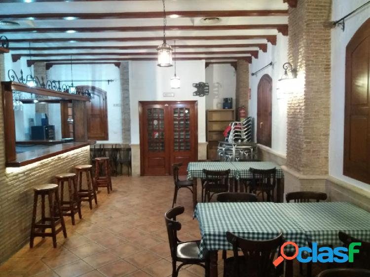 ALQUILER DE BAR CAFETERÍA EN CATARROJA
