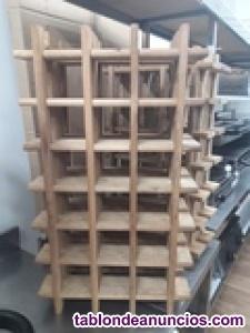 Botellero de madera ocasión