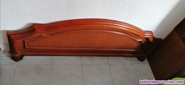 Piecero de madera para cama de 1,50