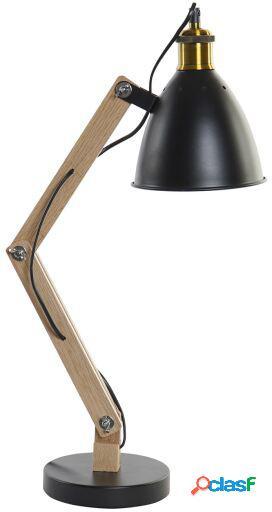 Wellindal Lámpara De Sobremesa Madera