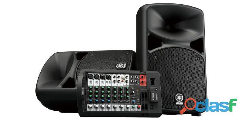 COMPRO Yamaha Stagepas equipo sonido